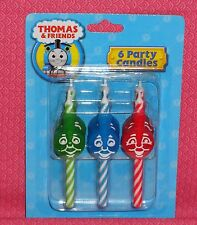 Thomas the Tank Engine Birthday Icon Candles,DecoPac, Multi-Color,Cake topper