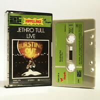 Jethro Tull - Live - Bursting Out - VG+ 1978 2LP Cassette - Chrysalis - 7599 376