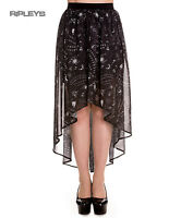 Hell Bunny Spin Doctor Goth Black Witch Ouija SPIRIT Maxi Skirt All Sizes
