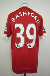 Manchester United Home Player/Match Issue Shirt Size 6 RASHFORD #39 2015/2016