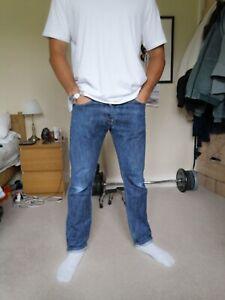 Mens Carhartt klondike Jeans, 34 Waist 32 Leg