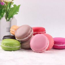 Artificial Single Macaron Macaroon Fake Cake Cupcake Bread Fruits Colors UKPL