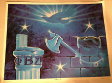 """PHI BETA SIGMA ART PRINT, 17"""" X 22"""", TITLED """"FORTITUDE"""", BY LARRY  M. NEWTON"""