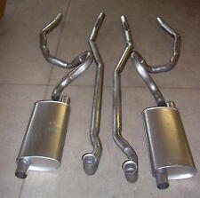 1970-1971 PONTIAC GTO, LEMANS & TEMPEST DUAL EXHAUST SYSTEM, 304 STAINLESS