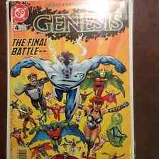 GENESIS COMIC BOOK #4 THE FINAL BATTLE OCTOBER 1997