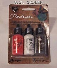 Vintaj Patina Ink Set - 3 Colors - Painted Barn