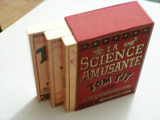 LA SCIENCE AMUSANTE / 300 EXPÉRIENCES / COFFRET 3 VOLUMES / TOM TIT