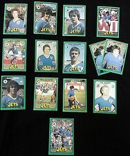 1978 SCANLENS NRL Rugby League FOOTY CARDS - NEWTOWN JETS