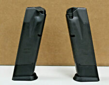 2 SIG Sauer P228 P229 9mm OEM 10 rd magazines Germany zipperback style