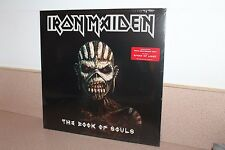 Iron Maiden The Book of Souls NEW SEALED 3 vinyl LP