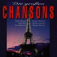 Die grossen Chansons 1 (1930-69/92, EMI) Gilbert Bécaud, Edith Piaf, Salv.. [CD]