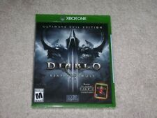 DIABLO III REAPER OF SOULS ULTIMATE EVIL EDITION...XBOX ONE...***SEALED**NEW***