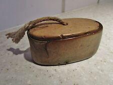 ancienne tabatière-boite à priser en bois- fin XIXeme siècle-tabac
