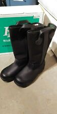 Fire Fighter Boots Leather Size 7-1/2 XW