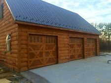 9x8 Wood Overhead Carriage House Garage Door AmanaDoors Model 101W8