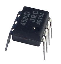 10 x JRC4580D 4580 amplificatore operazionale integrato integrated circuit