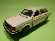 NACORAL   1:43  VOLVO 244DL   INTER-CARS    - SELTEN RARE - GOOD CONDITION