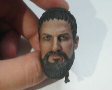Custom 1/6 Scale 300 King Leonidas Head Sculpt For Hot Toys Muscular Body
