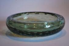 Bowl Green Hand Blown Art Glass