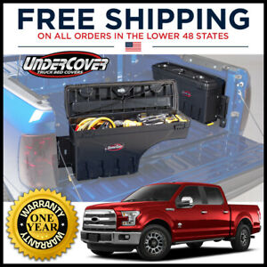 UnderCover Swing Case Passenger Side Truck Bed Storage for 2015-2021 Ford F-150