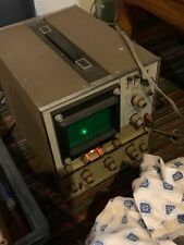 10 Mgz Green Trace Dual Trace Heath Kit Oscilloscope