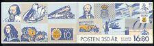 Sweden 1986 Postal Transport/Courier/Horses/Aircraft/Bus/Trains 8v bklt (n30367)