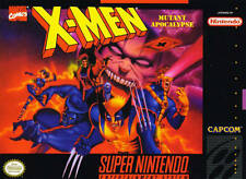 X-Men Mutant Apocalypse SNES Great Condition Fast Shipping