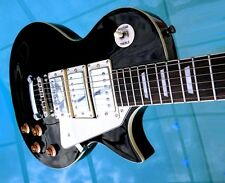 Elite Electric Guitar LP-F3 Frampton style w/ Hot PUPS Black HOT 16K Bridge