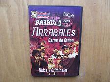 "ARRABALES ""5 PELICULAS URBANAS"" (Rare HTF DVD, 2014) All Spanish"