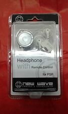 headphone with remote control psp