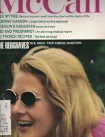 McCall's Magazine September 1967 LSD & Pregnancy Vanessa Redgrave Coco Chanel