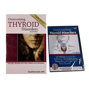 Overcoming Thyroid Disorders by David Brownstein | Paperback & DVD Set