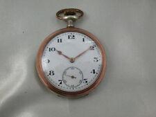 *MH1302* Antike offene Junghans Taschenuhr Silber