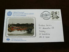 1991 RNLI Commemorative Cover No 206, RNLB Keep Fit Association, Filey, N Yorks,