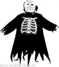 Halloween Fancy Dress Costume Party Skeleton Monster Ghost Cape Zombie SCREAMER