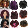 Jamaican Bounce Curly Hair Jumpy Wand Curl Twist Crochet Braids Hair Extensions