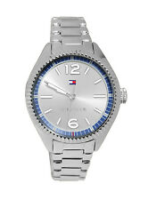 Tommy Hilfiger 1781519 Silver Blue Analog Dial Steel Bracelet Women Watch