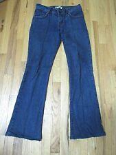 Vestiaire Boot Cut Jeans Black Rhinestone Women's 6 ME27