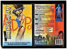 Ad Police Files - Complete Files 1, 2, 3 (Brand New Anime DVD, 2004)
