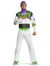 Buzz Lightyear Disney Pixar Toy Story Spaceman Space Ranger Mens Costume XL