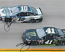 2016 Danica Patrick & Kurt Busch NASCAR Dual Signed Auto 8x10 Photo w/ COA