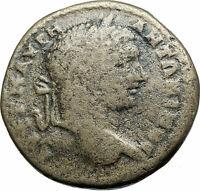 CARACALLA Authentic Ancient 198AD Serdica Thrace Genuine Roman Coin TYCHE i78921