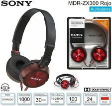 Auriculares Headphone Profesional Sony MDR-ZX300 STEREO HD SUPER BASS