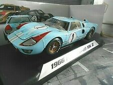FORD GT40 V8 24h Le Mans 1966 #1 Ken Miles / Hulme Gulf Shelby Collectibles 1:18