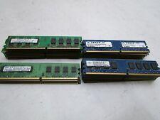 QTY-26 BUNDLE OF 2GB PC2-6400U DDR2 800MHZ 240PIN DIMM RAM DESKTOP MEMORY T12-A3