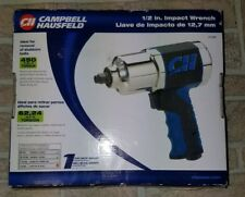 "Campbell Hausfeld Air Impact Wrench Twin Hammer 1/2"" Impact Driver (TL1402) New"
