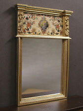 TRUMEAU  MIRROR  ~ Jim Coates ~ Dollhouse ~ Handcrafted ~ 1:12 scale ~ Room Box