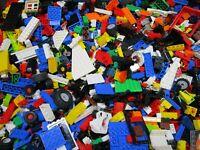 Lego ®  1 KG Steine Platten Räder Sondersteine bunt gemischt Kiloware  (1)