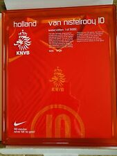 HOLLAND VAN NISTELROOY LTD EDITION PLAYER ISSUE BOXED FOOTBALL SHIRT - BNIB