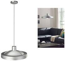 1.5 Metre Hanging Ceiling Light Lighting White Glass Shade A Energy Saving Bulb